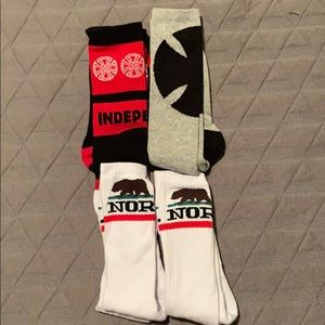 Independent Skate Co. and NorCal Socks